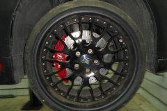 BMW 645i. Тормозная система XYZ на передней и задней осях 355-330mm