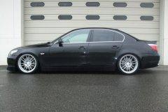 BMW E60 545i. Подвеска XYZ Super Sport.