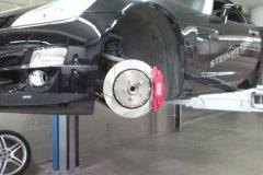 Opel GT.Установка 6-ти поршневой тормозной системы XYZ 355mm.