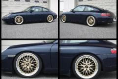 Porsche 911. Подвеска XYZ Super Sport.