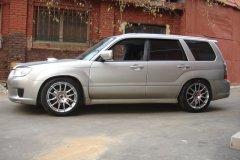 Subaru Forester. Подвеска Super Sport.