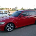 BMW 320d е91. Подвеска XYZ Super Sport