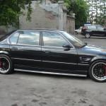 BMW 750 e32. Тормозная система XYZ 355 х 32 6pot на передней оси+ 355 х 32 4pot на задней