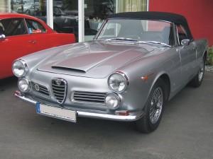 Alfa 2600 Touring Spider