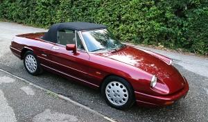 Alfa Romeo Spider 2.0, Serie 4 1990-93г.г.в