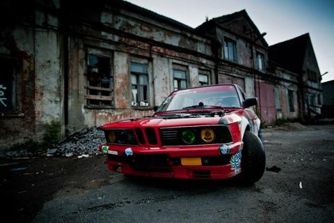 BMW 540i e28. Подвеска XYZ SS