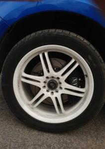 Subaru Forester (SH). Тормоза XYZ на передней и задней осях