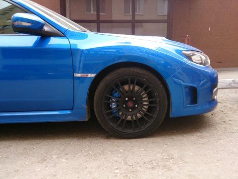 Subaru Impreza WRX STI. Тормоза XYZ