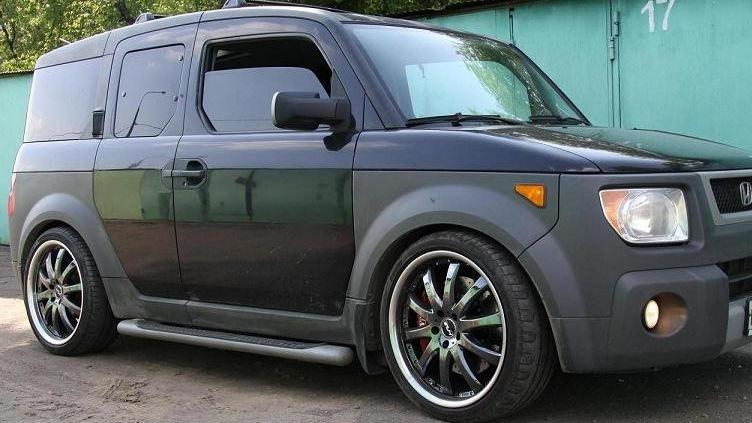 Honda Element. Тормоза и подвеска XYZ