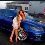 Skoda Octavia RS тормоза xyz